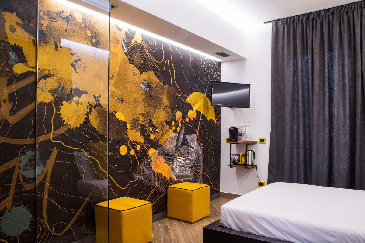 Hotel Amadillo - Gaeta - camera